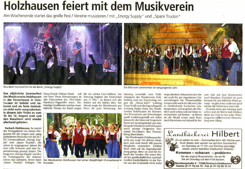 Gmünder Tagespost 10.08.2012