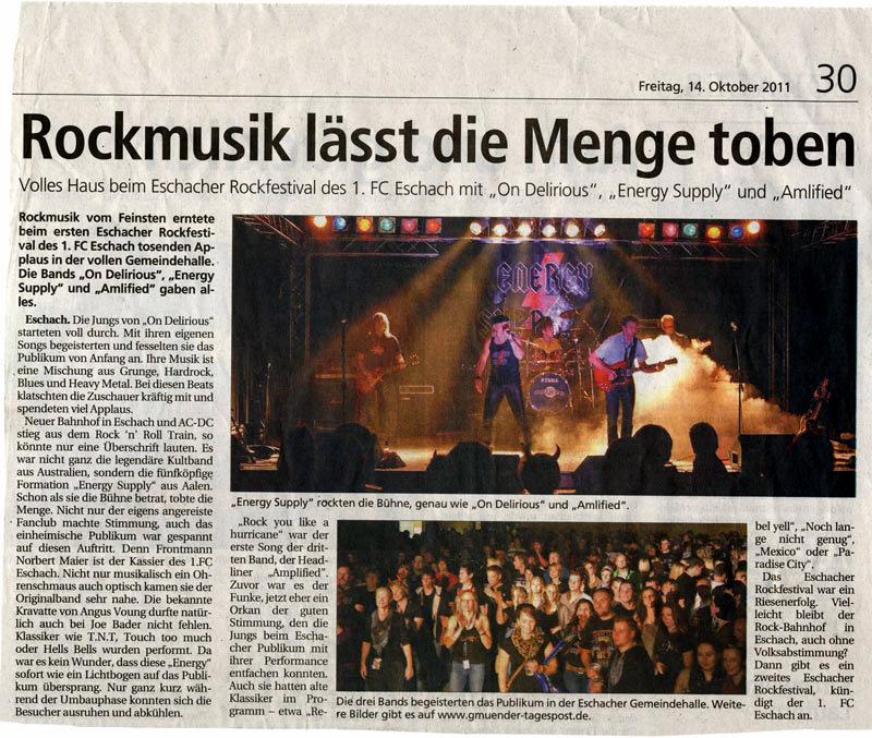 Gmünder Tagespost 14.10.2011