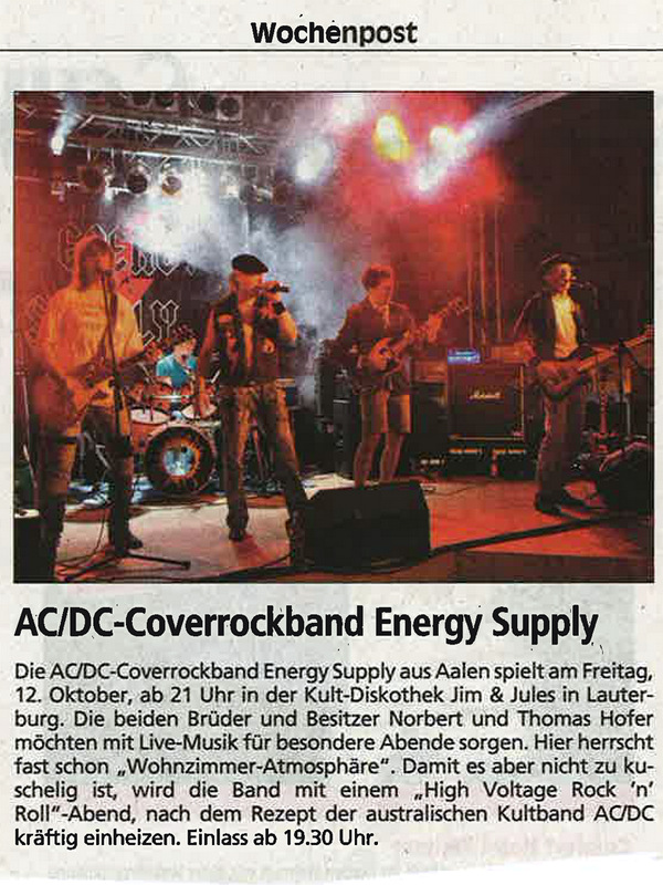 Wochenpost 10.10.2012