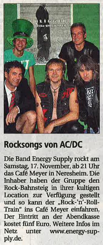 Wochenpost 15.11.2012